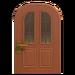 NH-House Customization-vertical-panes door (round)