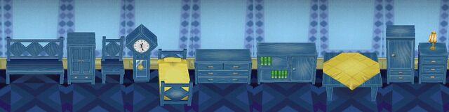 Modern Furniture Animal Crossing blue series   animal crossing wiki   fandom poweredwikia