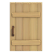 NH-House Customization-rustic door (square)