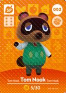 Tom Nook (Tarjeta amiibo)