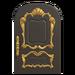 NH-House Customization-black fancy door (round)