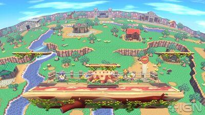 Wii U AC Stage