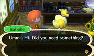 Talking Directly to Isabelle