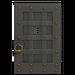 NH-House Customization-iron door (square)