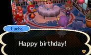 Lucha Villager Birthday