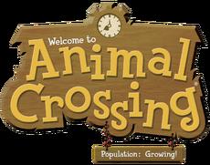 Animal Crossing Población ¡en aumento! (Logo)