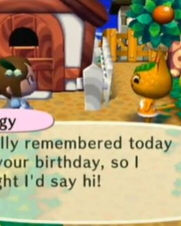 Birthday Animal Crossing Wiki Fandom