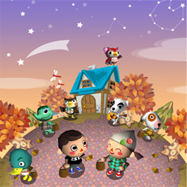 autuminacww - Halloween Animal Crossing City Folk