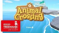 Animal Crossing New Horizons Gameplay - Nintendo Treehouse Live E3 2019