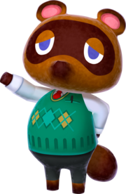 Tom Nook 3DS