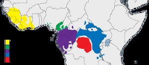 Areale Scimpanzè