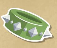 Green long spiked wrist, membership benefits