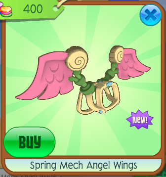 mech angel wings aj wiki