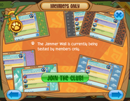Members-Only-Ad Jammer-Wall