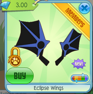 Eclipse Wings blue