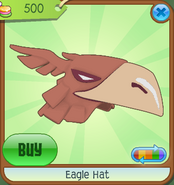 Museum-Shop Eagle-Hat Orange