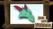 Rare Epic Dragon Mask
