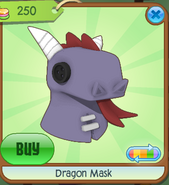 Dragon Mask purple