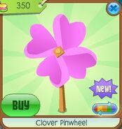 Clover Pinwheel pink