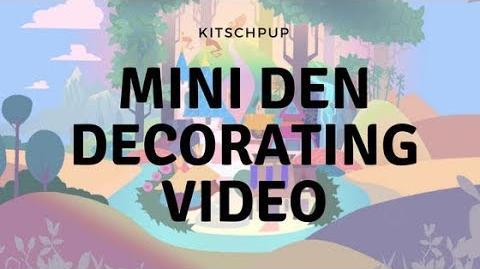 Mini Animal jam den decorating video ! Kitschpup AJ