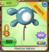 Phantom Balloon blue