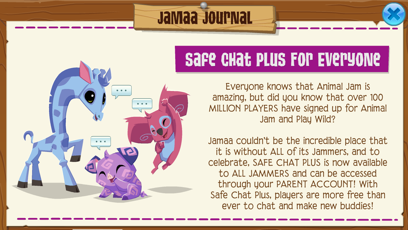 Chat | Animal Jam Wiki | FANDOM powered by Wikia