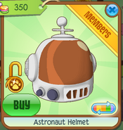 Shop Astronaut-Helmet Orange