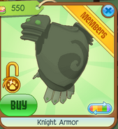 Shop Knight-Armor Green