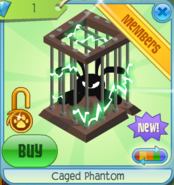 Caged Phantom square green