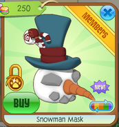 Snowman Mask5