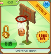 Shop Basketball-Hoop Clicked