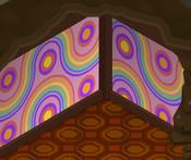 Enchanted-Hollow Rainbow-Pink