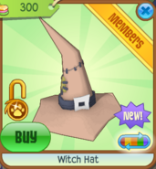 Witch Hat new brown
