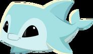 Blue pet dolphin