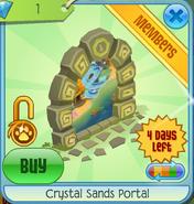 Crystal Sands Portal yellow