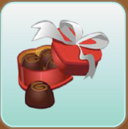 Jag Stamp box of chocolates
