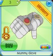 Diamond-Shop Mummy-Glove White