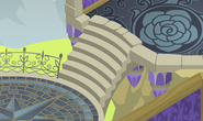 Fantasy-Castle Blue-Vines