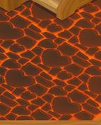 Friendship-Cottage Lava-Floor