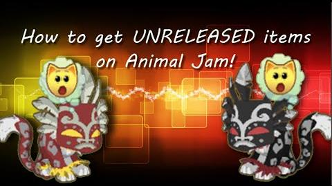 How to get unreleased items on Animal Jam!