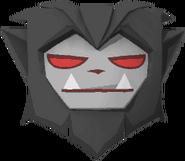 Rare werewolf mask gray