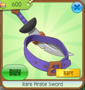 Rim pirate sword