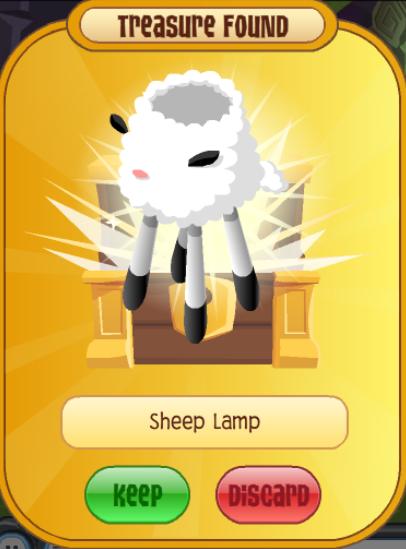 Sheep Lamp | Animal Jam Wiki | FANDOM powered by Wikia