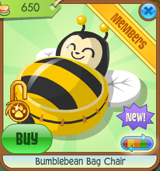 Remarkable Bumblebean Bag Chair Animal Jam Wiki Fandom Powered By Wikia Gmtry Best Dining Table And Chair Ideas Images Gmtryco