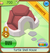 Pets-Only-Shop Turtle-Shell-House Red