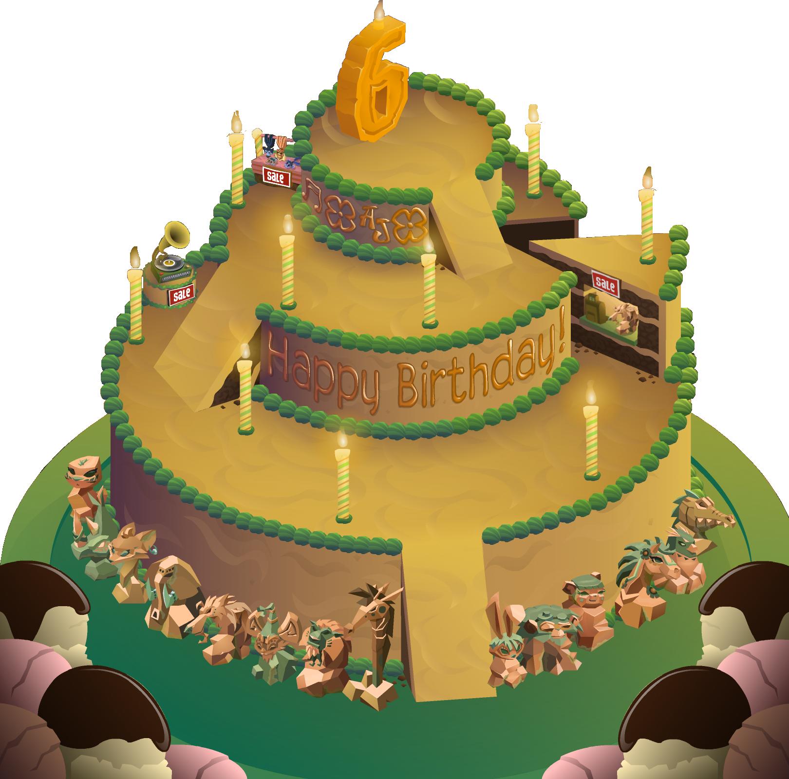 Image Aj Birthday Party Panorama No Backgroundg Animal Jam