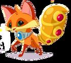 Fox art elf tail armor