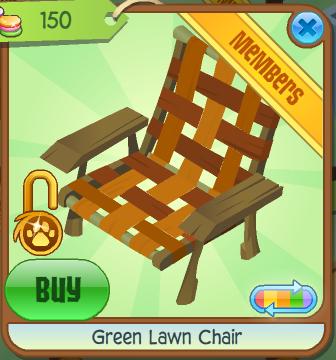 File:Green Lawn Chair Orange.png