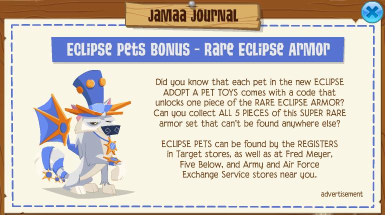 Rare Eclipse Armor | Animal Jam Wiki | FANDOM powered by Wikia