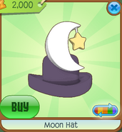 Moon Hat purple